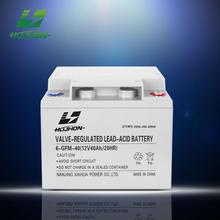 Best selling agm 12v 40ah battery battery powered electric motor excellent performance