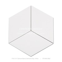 Polished Diamond Bianco Diamante Onyx White Natural Marble Floor Tile High Gloss