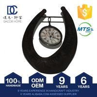 Nice Quality Professional Design Plain Competitive Price 100% Handmade Antique Table Clock