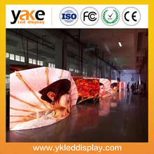 Yake P3.91/P4.81 Curved Rental LED Video Wall, 500mm x 1000mm die casting cabinet led panel