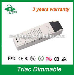 50w LED panel light 1500ma constant current led driver dimmable