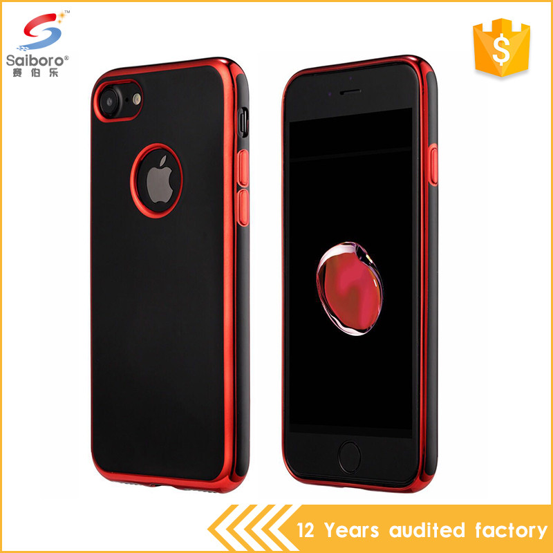 Fast delivery bulk cheap electroplating tpu cover case for iphone5s