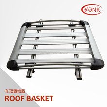 Hot Sale Stainless Steel Aluminum Bracket Removable Diy Universal Luggage Car Roof Rack