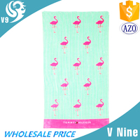 wholesale 100% cotton printed vibrant fabric custom cake towel