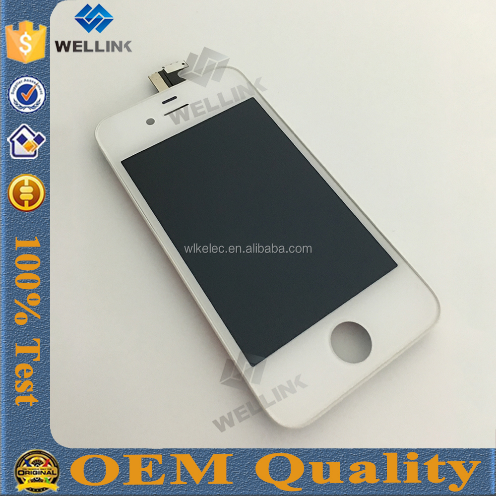 Best price china mobile for iphone 4 lcd and digitizer assembly