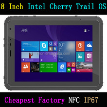 Cheapest Factory 8'' 8 Inch Rugged Tablets Intel Cherry Trail Z8350 Rugged Tablet Computer NFC GPS 2G ram+ 32G rom