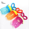 Wholesales Funny Feeding Bottle Baby Fruit Feeder BPA free Safe Silicone Baby Food Feeder For Intakin Nutrients