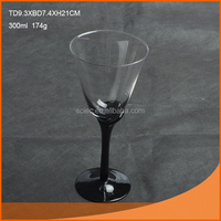 wholesale cheap glass goblet banquet glass goblet