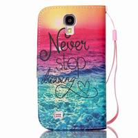 Sunshine Painting case for Samsung galaxy S4 mini/i9190, i9190 case wholesale with rope