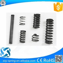 black color tempered compression spring supplier in china