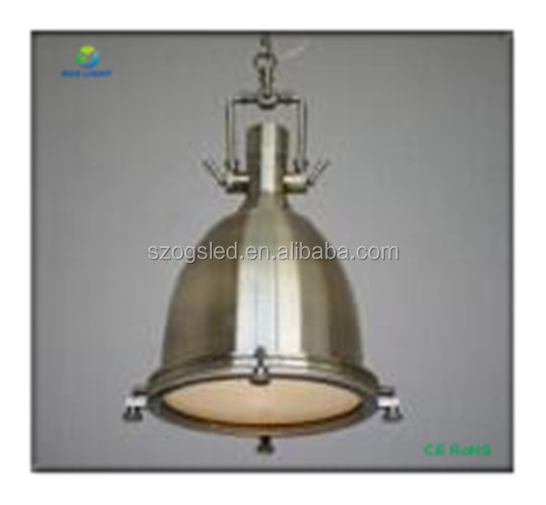 Stainless Steel Plating Loft Vintage Pendant Lights Lamp