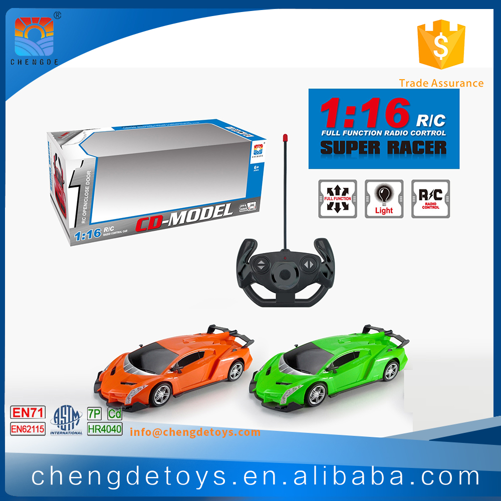 4CH 1:16 Remote Control Racing Car For Kids Small Toy Aldi Product Solar Car With Remote Control