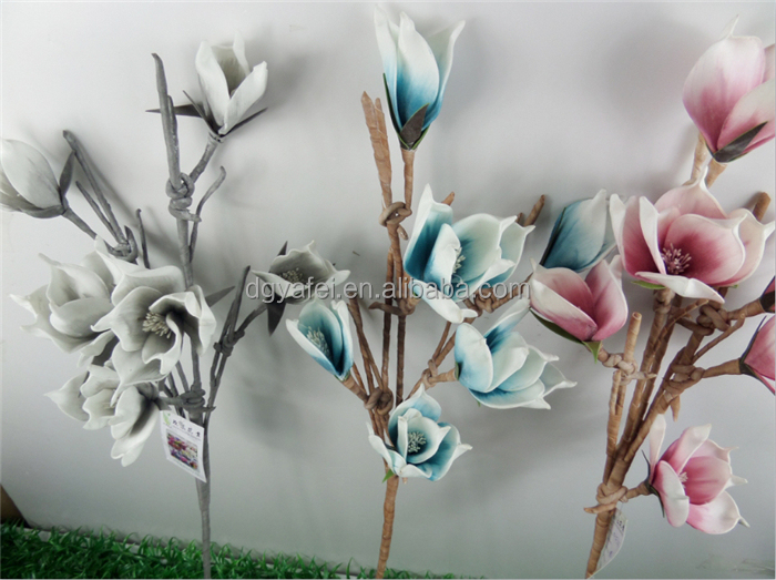 various types PE foam rose flowers colorful artificial foam artificial flower