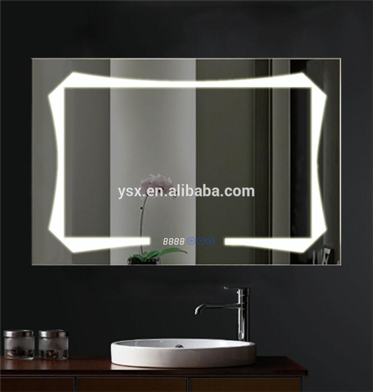 2017 cheap plastic Led mirror
