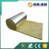 Fire glasswool insulation pin materials soundproof roll with foil