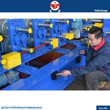manufacturer of Glazed Tile chinese corrugated plastic roof tile machine
