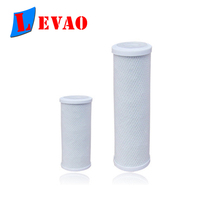 2018 Hot Sale 10'' CTO activated carbon water filter cartridge for water filter system