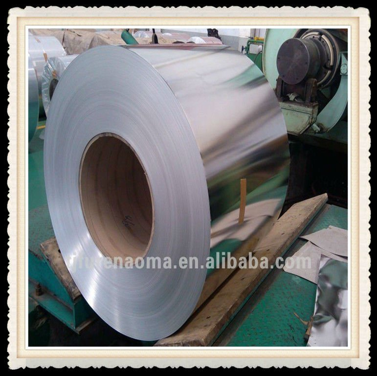 jis g33303 0.23mm tin plate coils in prime and secondary quality T2-T4 BA 2.8/2.8 tin coating golden lacquered for metal packing