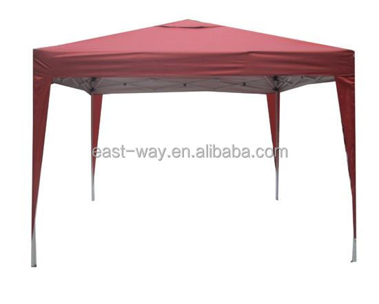 3X3 meters iron metal frame folding outdoor gazebo