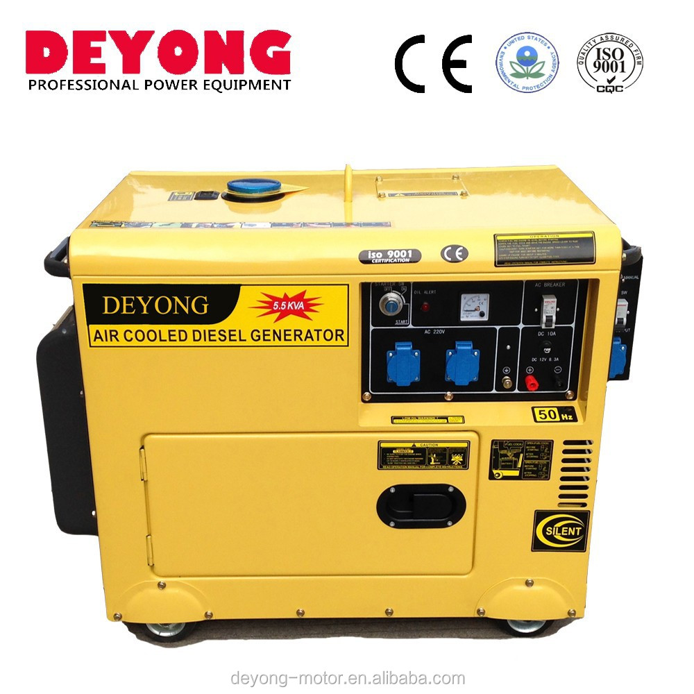 5kva small silent three phase dynamo generators for home use