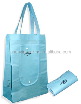 non-woven foldable bag for shopping