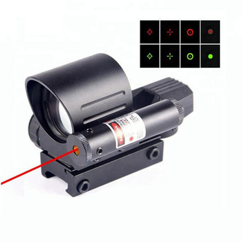 High precision Holographic optical sight Red&Green dot reflex sight & Red laser sight combo Thermal rifle scope