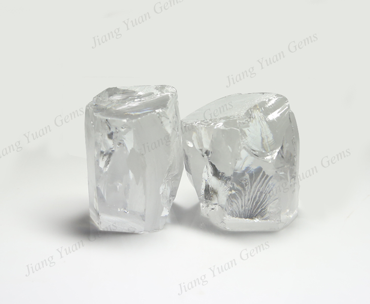 Uncut Cubic Zirconia Raw Material Wholesale Rough gemstones for sale