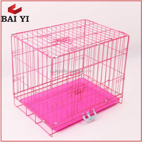 Anping BAIYI Foldable Wire Steel Bar Dog Cage For Dog