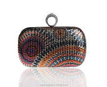 korean crystal clutch bag shoes and matching clutch bag