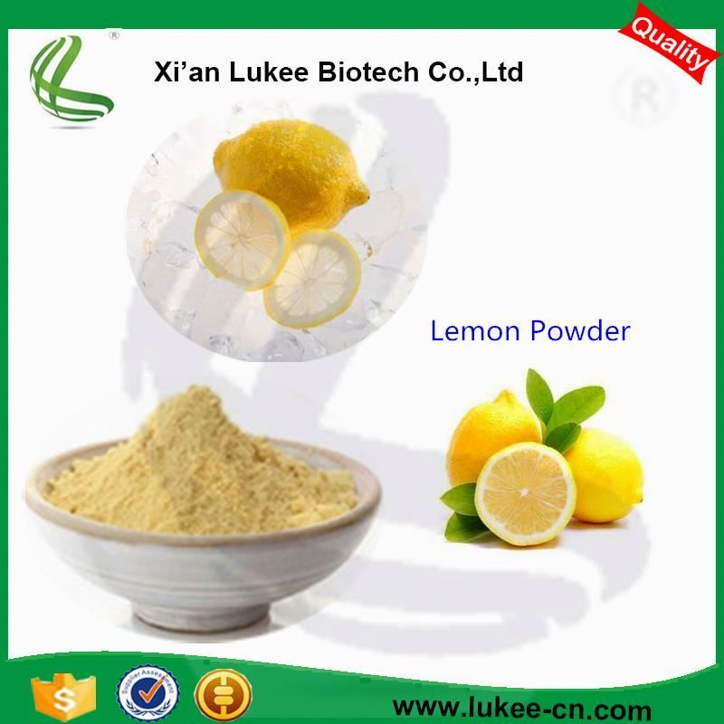100% Natural Dried Yellow Lemon Fruit Powder For Food Additives