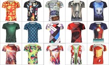 fashion sublimation tshirt printing custom t shirt