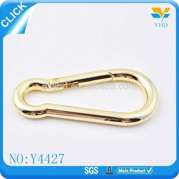 2017 new product zinc alloy metal spring snap hook wholesale