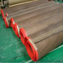 Custom Size Film edge bullnose joint ptfe teflon coated fiberglass mesh conveyor belt