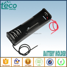 TBH-18650-1B-W Ningbo TECO 3.7V 18650 Battery Holder with lead wire