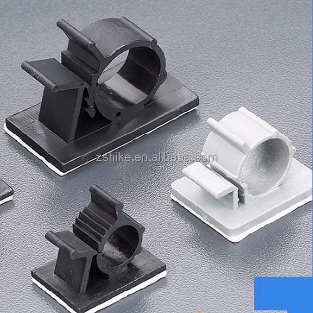 Rosh Approved Adjustable Plastic Nylon Cable Clamps For Wire