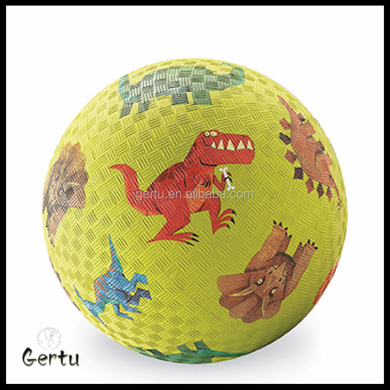 2015 school rubber playground dodgeball ball,skin ball