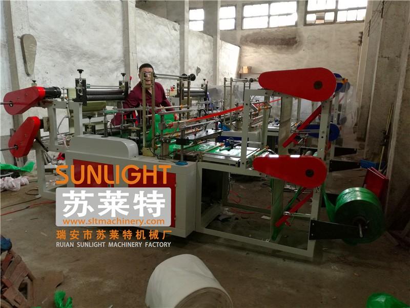 Economic Empty Polyethylene Bag On Roll Making Machine Suppliers