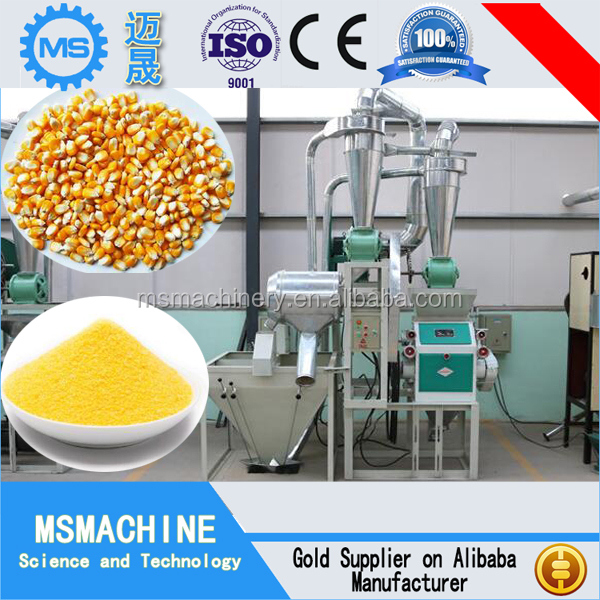 Maize Corn Flour Milling Machine/corn flour machine for sale