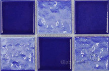 wavy ceramic mosaic tiles for wall decoration