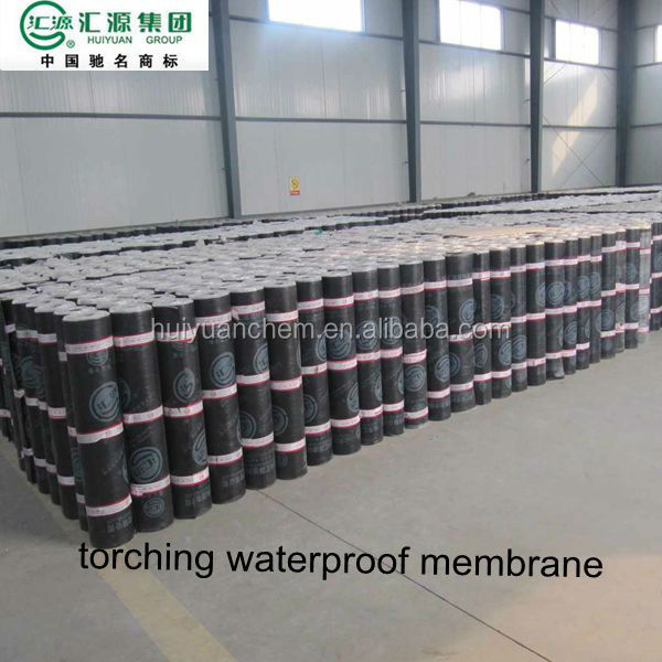 granule high quality flexible waterproofing rubber roofing 2.5 mm membrane