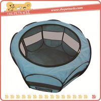 New hot selling products foldable outdoor pet playpen ,p0wed luxury pet playpen