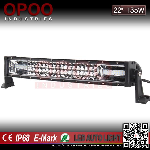 OPOO Wholesale 4x4 led driving light bars, curved triple row 22