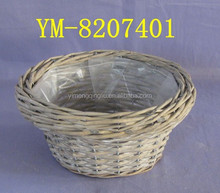 Wholesale cheap gift wicker basket for planting supplies