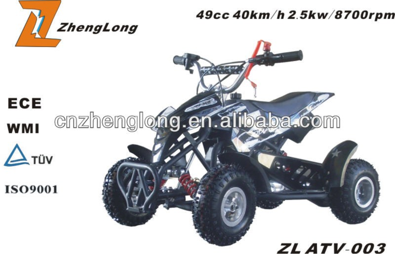 Kandi atv log trailer with crane epa atv 150cc