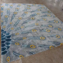 Hand tufted carved carpet for residential and hospitality project carpet