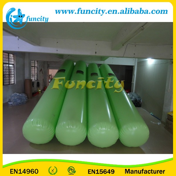 Outdoor mini water park popular,Giant inflatable water toys for adults and kids