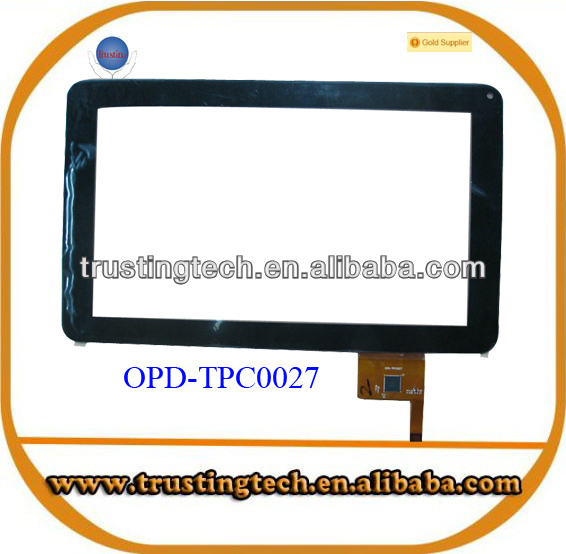 9 inch 232.5x141mm 12pin touch screen Replacement for ARNOVA 90 G4 Tablet PC touch Digitizer OPD-TPC0027
