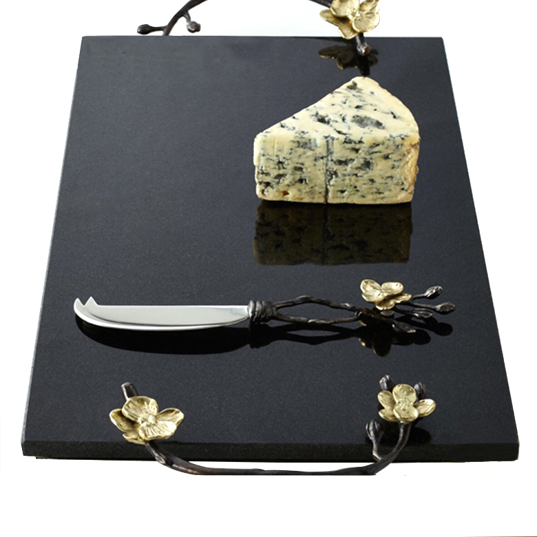 Promotional various shapes <strong>natural</strong> slate stone serving food tray in restaurant hotel