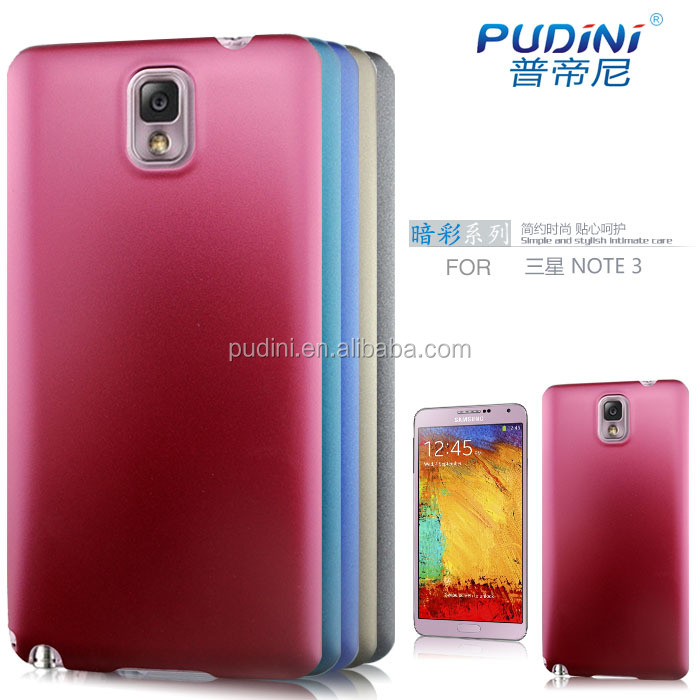 2014 PUDINI accept OEM mobile phone dark color series case fit for samsung galaxy note3 n9005