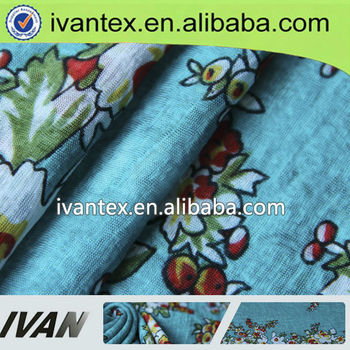 2015 fashion new design pretty interlock digital polyester printed fabric